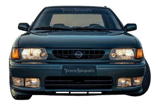 Defensa Fascia Label Original Tsuru 1998 Facia Golden Nissan