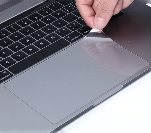 (2unidades) Transparente Antiarañazos Trackpad Protector