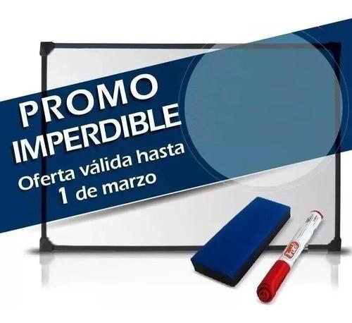 Imagen 1 de 1 de Pizarra Blanca 90x140cm + 1 Marcador + Borrador