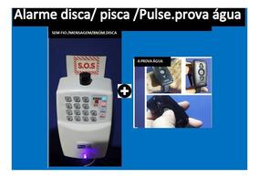 Alarme Pulseira Pânico Idoso- Sem Fio - Disca 8 Núm.mensagem