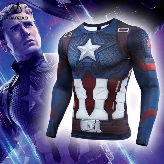 Capitán America Compresión Avengers 4 Endgame Tarda 4 Semana