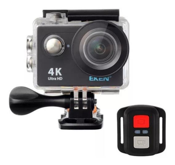 Câmera De Ação Original Eken H9r 4k Wifi + Cartão 32gb