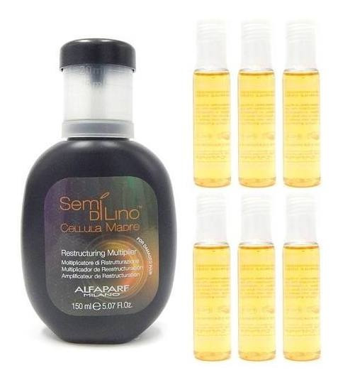 Kit Alfaparf Cellula Madre Reestructuring 150ml + 6 Ampollas