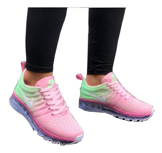 Zapatos Mujer, Tenis Nike Air 2014, Zapatillas Deportivas