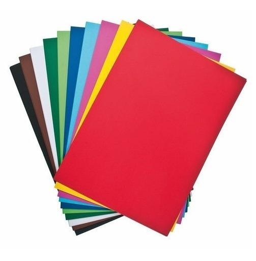 Cartulina Escolar Luma 45x63cm Varios Colores X Unidad