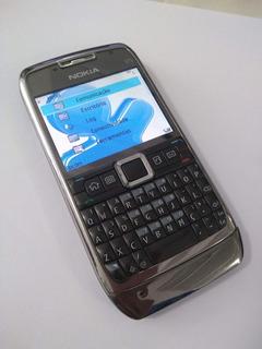 Celular Nokia E71 Preto - 3mp C/ Flash