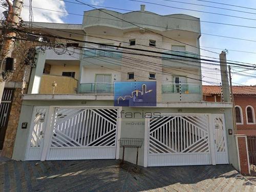 Imagem 1 de 21 de Apartamento Com 2 Dormitórios À Venda, 150 M² Por R$ 450.000,00 - Vila Pires - Santo André/sp - Ap0899
