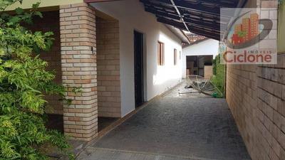 Casa Com 3 Dormitórios Para Alugar, 100 M² Por R$ 2.000/mês - Praia Do Sonho - Itanhaém/sp - Ca0510