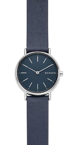 Relógio Skagen Feminino Signatur Prata Skw2728/0an