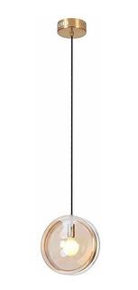 Lampara Colgante Moderna Diseño Deco Ion Apto Led E27
