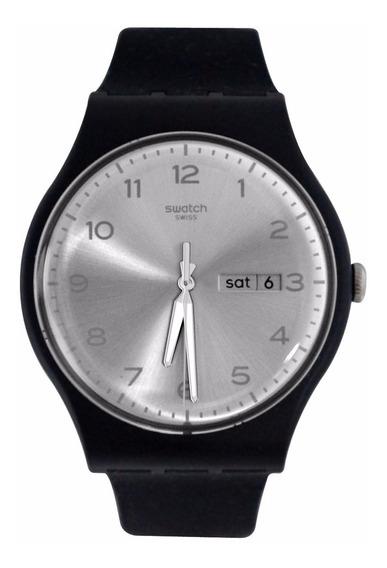 Relógio Swatch Silver Friend Suob717