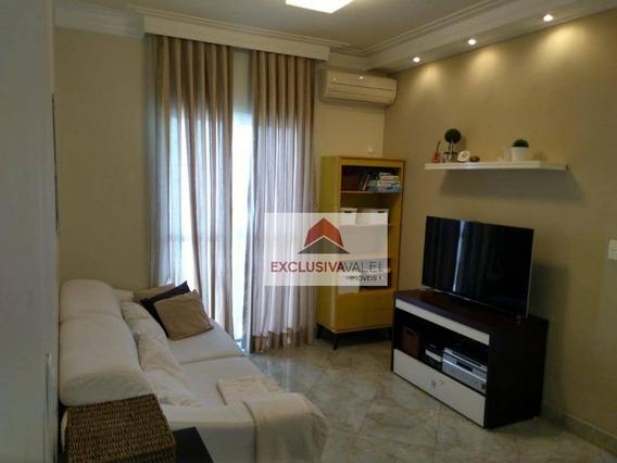Apartamento À Venda, 64 M² Por R$ 280.000,00 - Jardim Das Indústrias - São José Dos Campos/sp - Ap1902