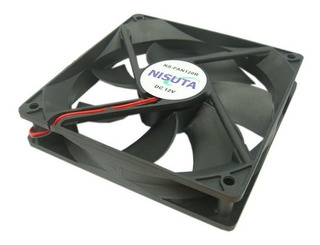 Ventilador Cooler 120x120x25mm Buje 12v Nisuta Ns-fan120
