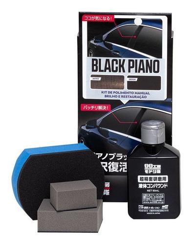 Imagen 1 de 2 de Nano Pulidor Manual Black Piano Y Acrílicos Soft99 Japan