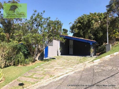 Casa Com 3 Dormitórios À Venda, 243 M² Por R$ 1.300.000,00 - Granja Viana - Cotia/sp - Ca1876