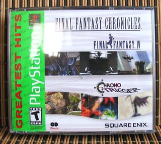 Final Fantasy Chronicles Gh - Ps1 Rpg - Chrono Trigger