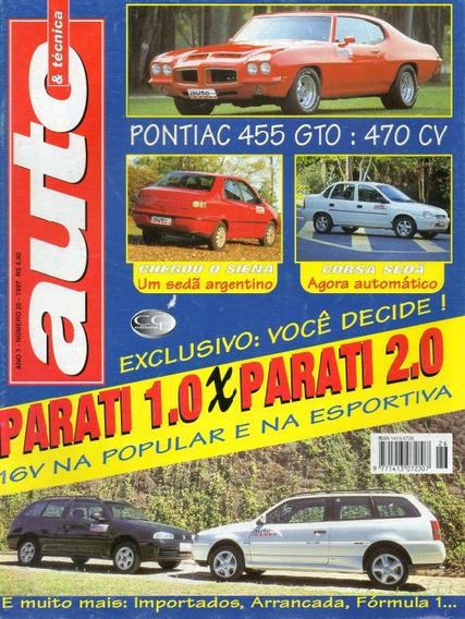 Auto & Técnica Nº26 Pontiac Gto Parati Siena Corsa Sedan