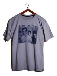 Remera Banda De Rock The Smiths Manga Corta. Manchester 1982