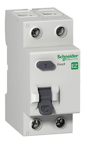 Disyuntor 2x25a Diferencial Bipolar Schneider Easy9 30ma
