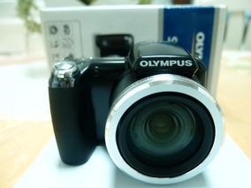 Câmera Fotografica Olympus Sp-810 Preta Zoom 36x