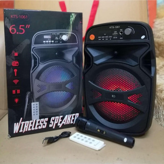 Bocina Kts 1061 Con Microfono