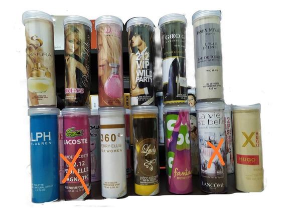 Perfumes Damas Y Caballeros Tubulares Colombianos