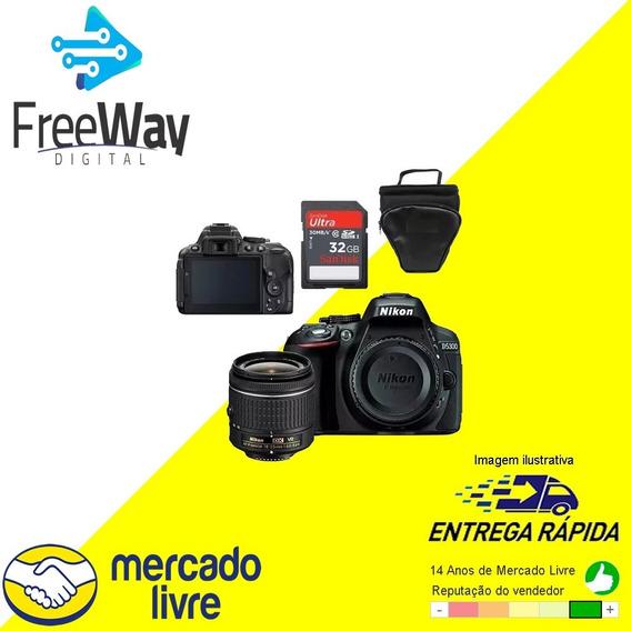 Nikon D5300 18-55mm+ 32gb+ Bolsa + Garantia E Nota Fiscal