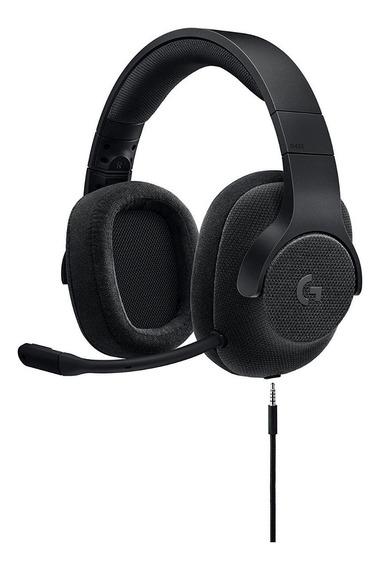Headset Gamer Logitech 7.1 G433 Preto Pc, Ps4®, Xbox® One