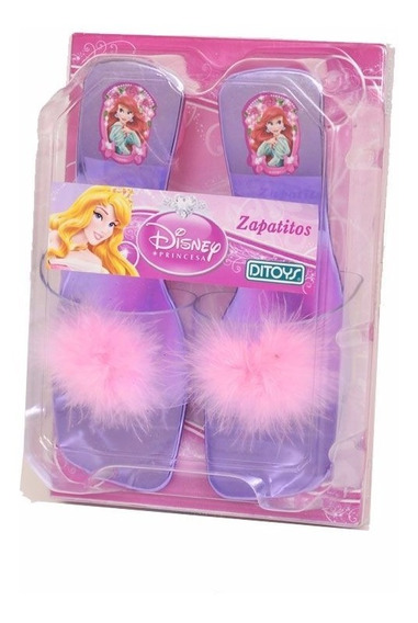 Taquitos Zapatitos Disney Princesas Con Licencia De Ditoys