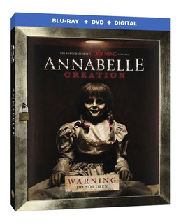 Annabelle Creation Bluray + Dvd Importado Nuevo En Stock
