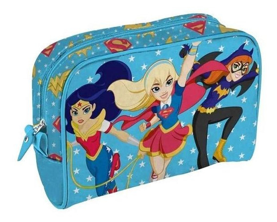 Necessaire Em Pu Urban Dc Comics Super Hero Girls 41272