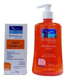 Nupill Kit Firmness Vitamina C Creme + Sabonete