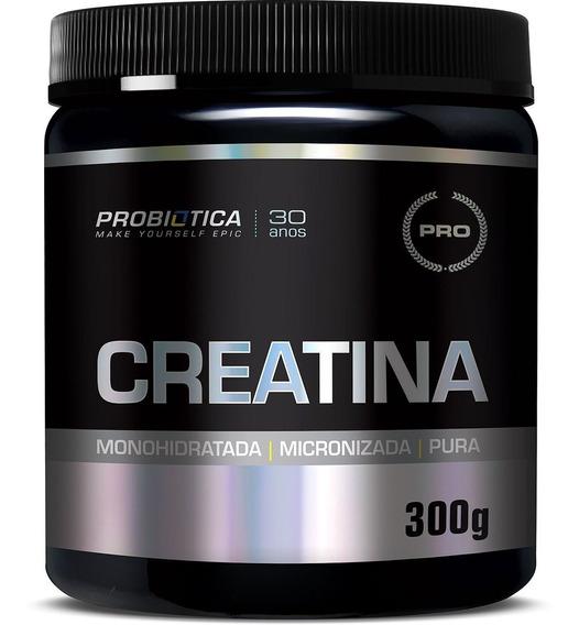 Creatina Monohidratada E Micronizada Pura 300g - Probiotica