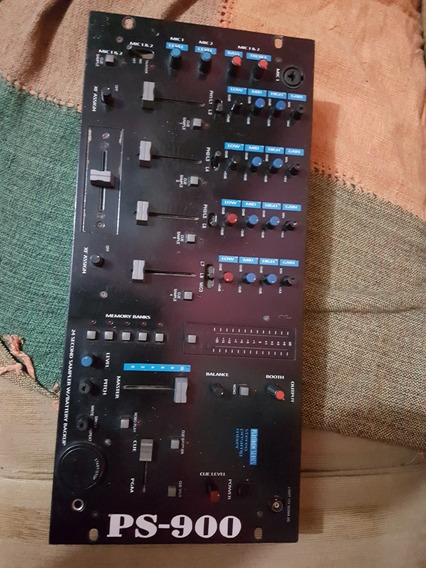 Mixer Gemini Ps900 Funcionando Inteiro.