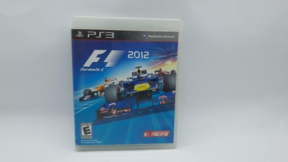 Formula 1 2012 - Ps3 - Midia Fisica Em Cd Original