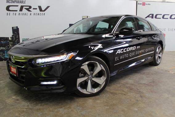 Honda Accord Touring Cvt 2019 Negro