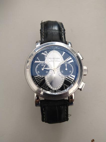 Reloj Tourneau Gotham, No Rolex, Bulova.