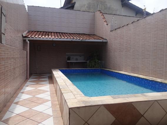 Casa Na Praia Com Piscina Use Seu Fgts Ref: 6615 C