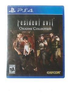Resident Evil Origins Collection Ps4 Nuevo Sellado