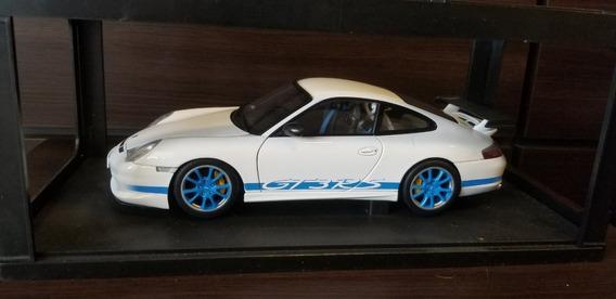 Porsche 1/18 996 Gt3 Rs Blue/white Autoart