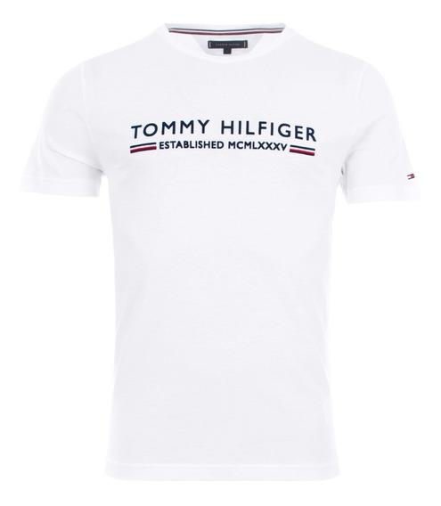 Playera Casual De Caballero Tommy Hilfiger Nueva Talla S 1,199$