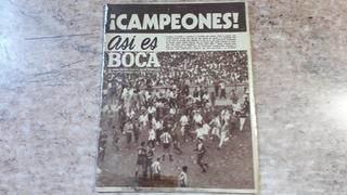 Asi Es Boca. Boca Campeón 1962. Excelente Estado.