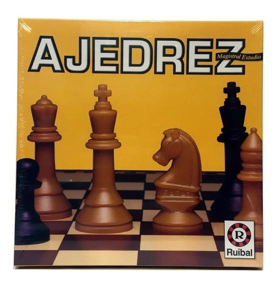 Juego De Mesa Ajedrez Magistral Estudio Original Ruibal