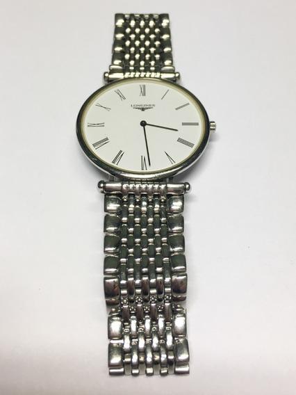 Relógio Original Longiness Masculino Aço Inoxidável Usado