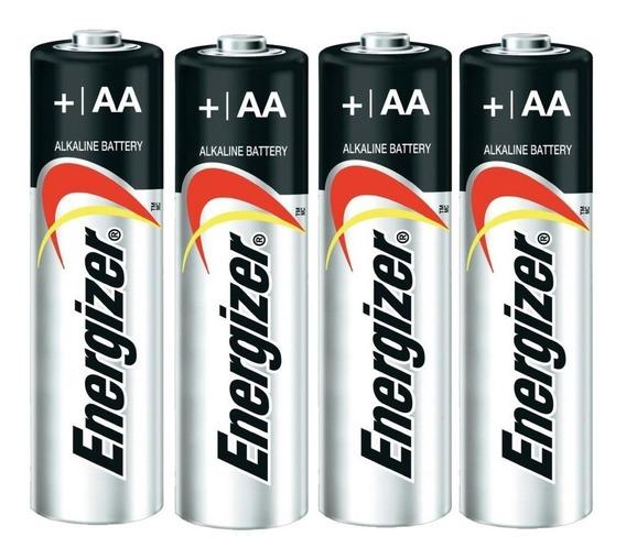 Pilas Baterías Aa Energizer Batería Alcalina Máxima 4 Unid