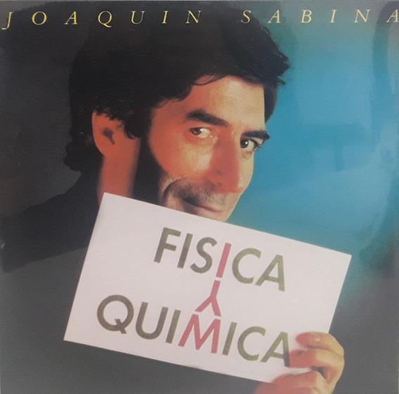 Vinilo Joaquin Sabina Fisica Y Quimica Lp Nuevo Original