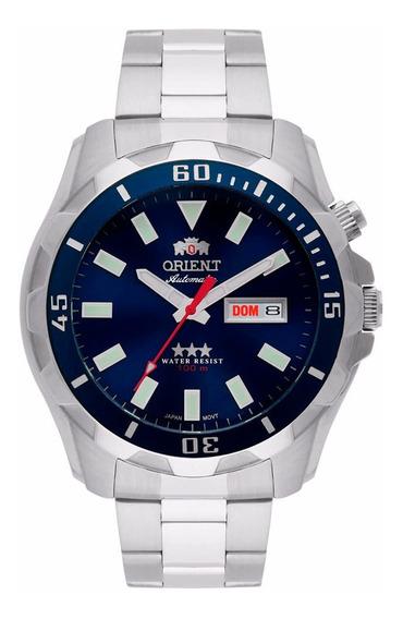 Relógio Masculino Orient Automático 469ss078-d1sx Dm 47mm