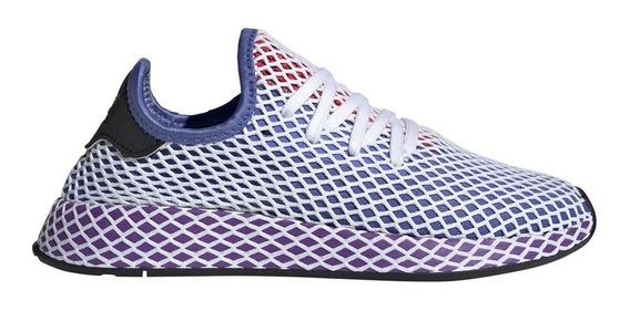 Zapatillas adidas Originals Deerupt Runner W Mujer Vi/bl