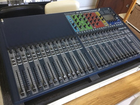 Soundcraft Si Expression 3 + Placa Madi-usb + Road Case