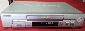 Video Cassete Panasonic Nv-sj405 - 5 Cabeças